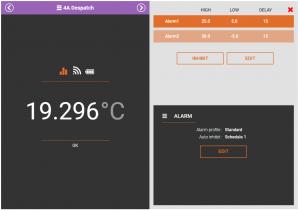 Adding an Alarm Profile to a Sensor