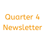 Quarter 4 newsletter