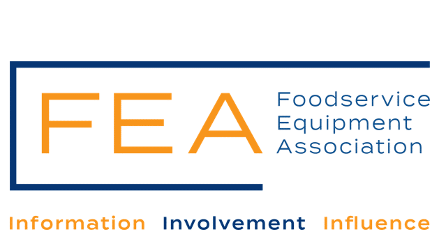 logo for the food equipment association