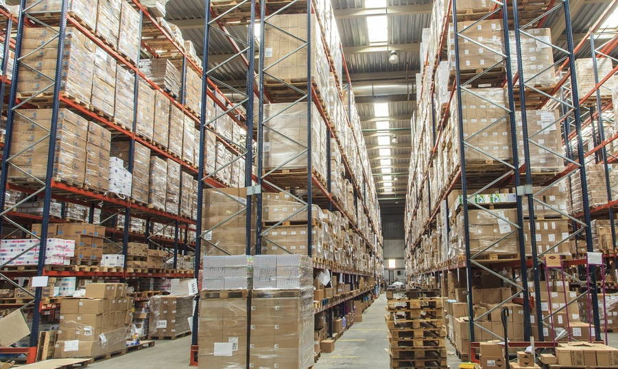 Temperature monitoring for warehouses