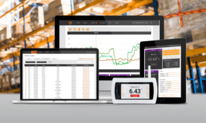 Warehouse temperature monitoring system