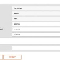 user details screenshot on D3 system