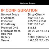 IP configuration on D3 base station