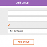 add sensor group popup window