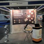 TCS&D Show Stand with Tek Troniks branding
